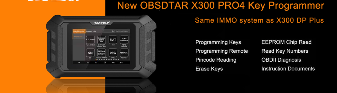 New OBDSTAR H110 VAG I+C with RFID Adapter
